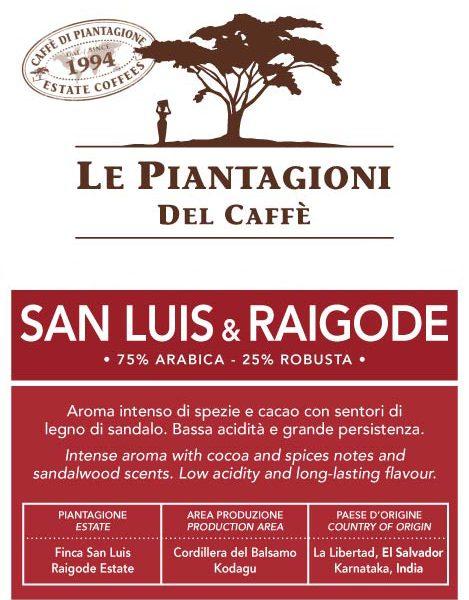 Coffee San Luis _ Raigode 75_ Arabica 250g