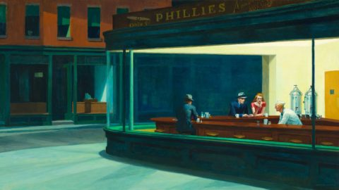 About 'Nighthawks' by Edward Hopper