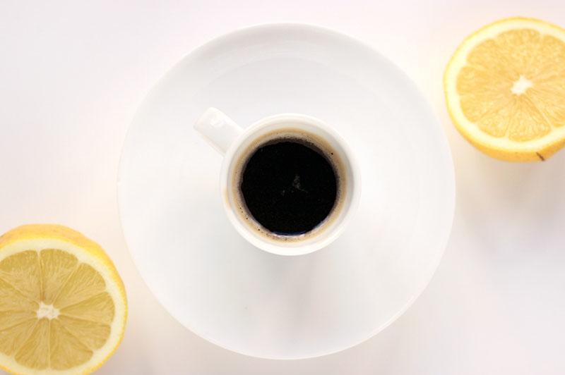 Lemon Iced Coffee